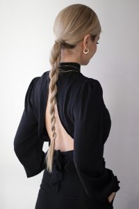 Sleek Valentines Day Braid